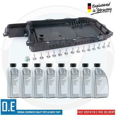 For Q7 Cayenne Touareg 0C8 Automatic Transmission Gearbox Pan Filter 8L Oil Kit