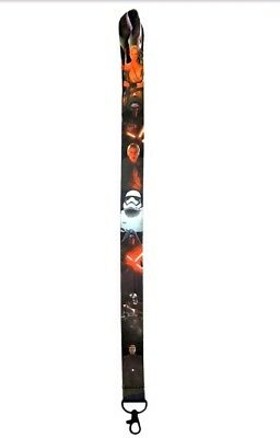 Star Wars Themed Lanyard with Clip - ID / Badge Holder ~ Brand NEW Lanyard