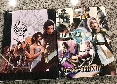 2 Books - JAPAN - Final fantasy VII advent children & Final fantasy Book