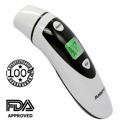 Medical Forehead and Ear Thermometer FDA Approved (Dual Mode) – Infrared Digit..