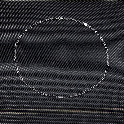 Georg Jensen Sterling Silver Anchor FIGARO Chain 45cm LARGE