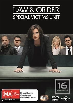 Law And Order SVU - Special Victims Unit : Season 16 DVD : AS NEW