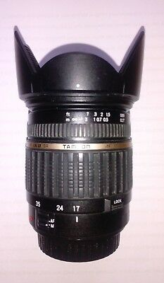 Tamron 17-50mm f2.8 LD ASPH IF XR Di II lens Canon fit