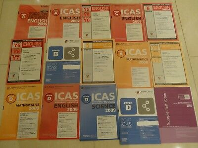 ICAS Past Papers with Answers (15 papers)