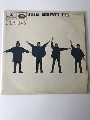 The Beatles Help! Vinyl First Pressing1965 PMC1255