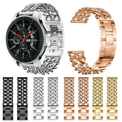 Stainless Steel Watch Band Replacement Wrist Strap for Samsung Galaxy Watch 46mm