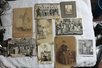 9 OLD 1920S Photo Pictures African American  Black Americana SHELBINA MO