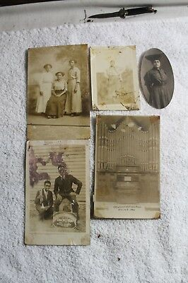 OLD 1920S Photo Pictures African American  Black Americana EDINA  MO AME CHURCH