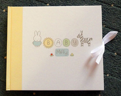 Miffy Baby - Guest Book - NEW - New Baby, Baby Shower, Birthday