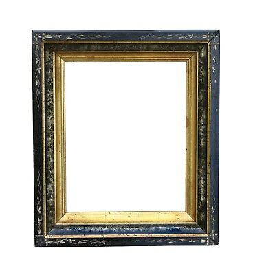 Victorian Faux Marble, Paint Decorated Picture Frame, c.1875