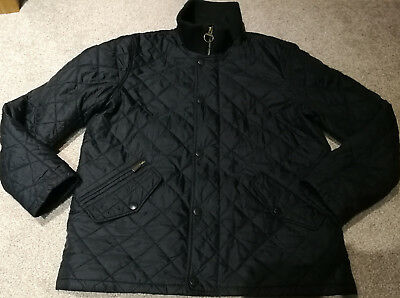 Mens Barbour Chelsea Rib Neck jacket Size L