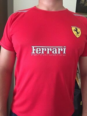 Weiss Formel 1 Mens Santander Alonso Polo Shirt Ferrari