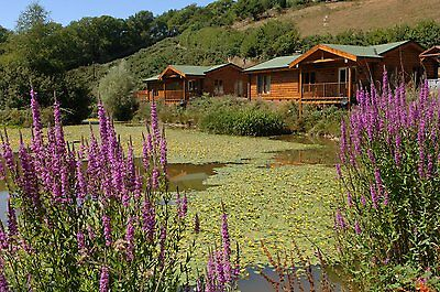 Holiday Lodges North Devon Hot Tub Fishing, Short Breaks Holidays. Log Cabins