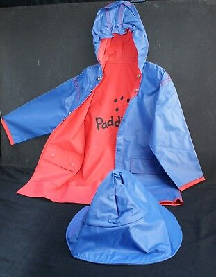 Twenty New Child's  Reversible Hooded Vinyl Paddington Raincoats and Rain Hat