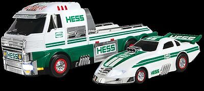 2016 Hess Toy Truck And Dragster New In Box Never Opened STILL IN BOX