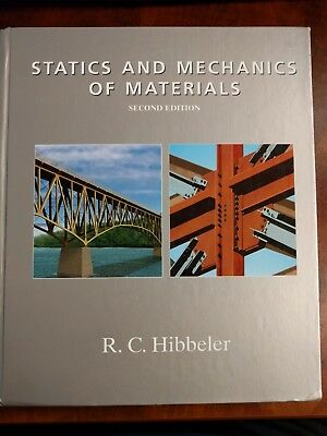 Statics and Mechanics of Materials by Russell C. Hibbeler 2nd Edition