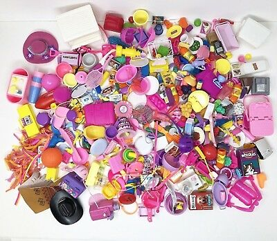 Barbie Lot of Accessories Over 2lbs Kitchen-Food-Sports-Pet Stuff-So Much More