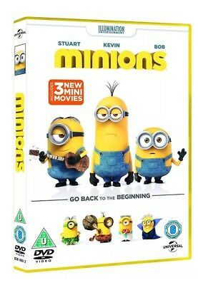 Minions [DVD] [2015] Sandra Bullock New Sealed