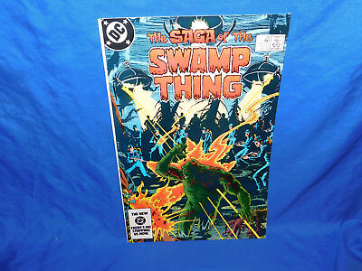 The Saga of The Swamp Thing #20 1st Alan Moore Issue FN/VF