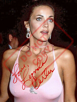 8.5x11 Autographed Signed Reprint Photo Lynda Carter Sexy