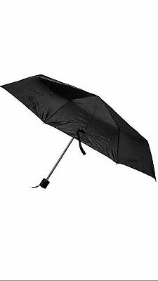 """USA SELLER- Travel Umbrella/ Rain Protection/Emergency 42"""" Expanded With 8 Ribs"""