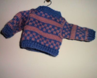 1994 Collectible Boyds Collection Bear Clothing Accessories Knitted Sweater