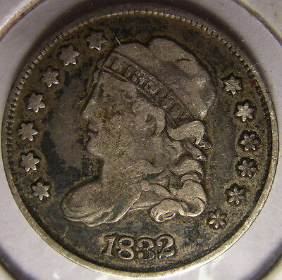 1832 Capped Bust Half Dime *Old Silver Coin*
