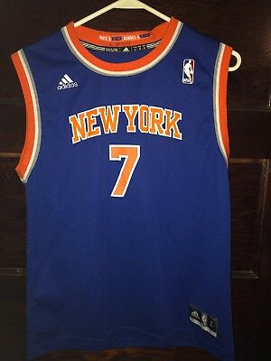 New York Knicks Carmelo Anthony  7 Adidas NBA Youth Jersey Size Large 1b0e86f50