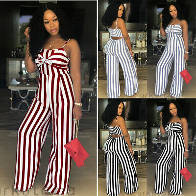 Women Ladies Clubwear Sleeveless Bodycon Romper Jumpsuit Party Playsuit Bodysuit