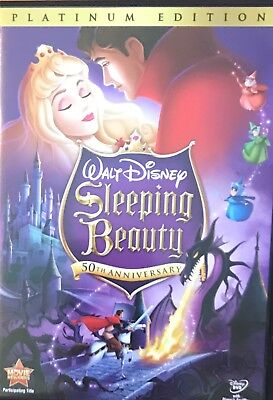 Sleeping Beauty (DVD, 2008, 2-Disc Set, Platinum Edition) 50th ANNIVERSARY
