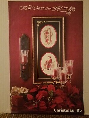 Homco Home Interiors And Gifts Homco Brochure Sales Catalog 1993 No 1 9959 11 7 Collectibles Decorative Collectible Brands