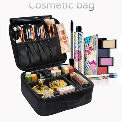 Women Professional Cosmetic Case Beauty Brush Makeup Bag Travel Bags