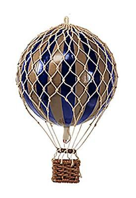 Authentic Models Royal Aero Hot Air Balloon In Dark Blue And Gold