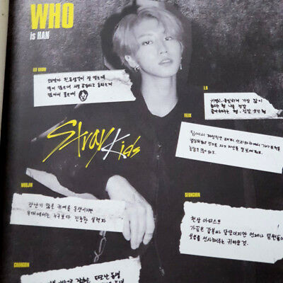 [STRAY KIDS]I Am WHO album/Who Ver./No photocard, No Lyrics Poster/HAN COVER
