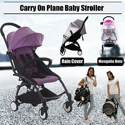 Lightweight Baby Toddler Stroller Jogger Generic Pram Compact Child Fold Travel