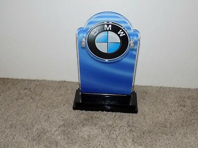"""BMW Plaque 10"""" tall and 6.5"""" wide"""
