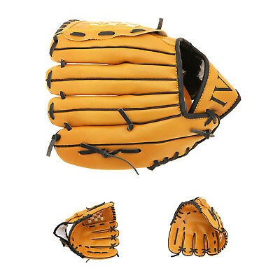 1X(Baseball glove For pitcher Soft type For throwing right Brown (11.5 inch X8U5
