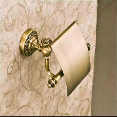 LETAU Antique Bronze Finish Solid Gold Brass Material Toilet Paper Holders