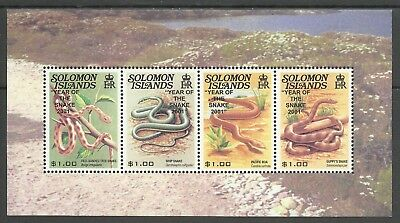Salomon Reptiles Serpents Snakes Schlangen Serpientes Rettili Serpente ** 2001