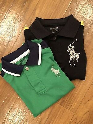 Ralph Lauren Polo Shirts Size 3T & 4T Lot Of 2!