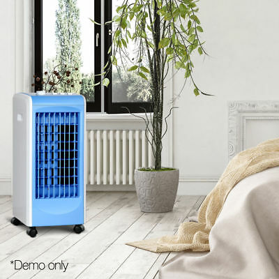 Evaporative Air Cooler Portable Fan Humidifier Conditioner Cooling Swing @TOP