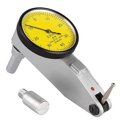 (EU) Lever Dial Test Indicator 0.01mm Precision Meter Tool Kit Gage Professional