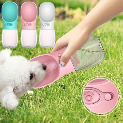 Silicone Portable Pet Dog Cat Drinker Dispenser Drink Bottle Water Feed New
