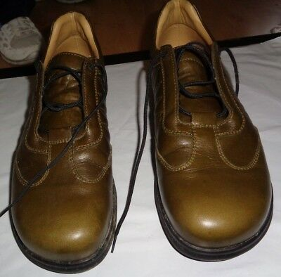 1a3e4c9586aa BIRKENSTOCK FOOTPRINTS OXFORD Lace Up Tie Shoes Size 44 US 10 Brown ...