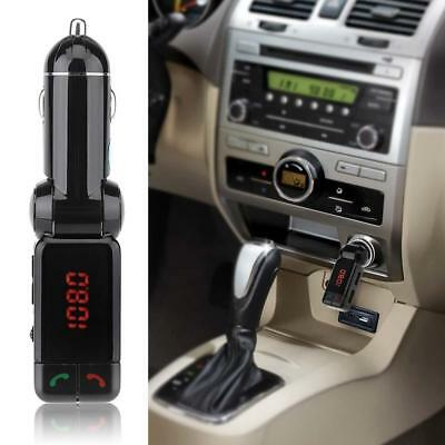Hot! Car Wireless Bluetooth FM Transmitter Handsfree MP3 Player Dual USB Charger
