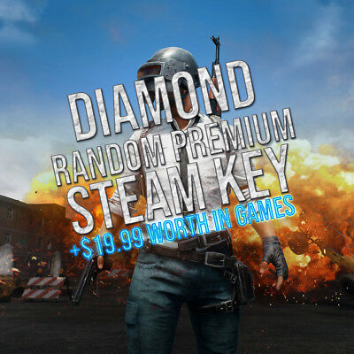 1 Diamond Premium Random Steam Key + BONUS (REGION FREE)