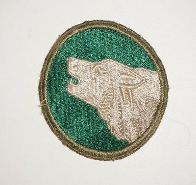 104th Infantry Division Patch WWII US Army P8285