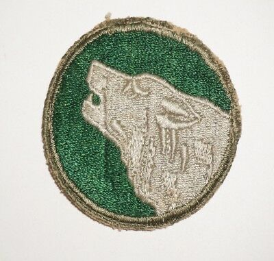 104th Infantry Division Patch WWII US Army P8286