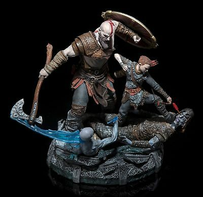 God of War Stone Mason's Collector's Edition (Statue Only) Kratos and Atreus PS4