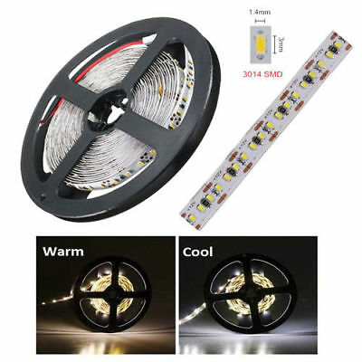 striscia led 12v flessibile SMD 3014 strip led 5mt luce calda fredda da interno